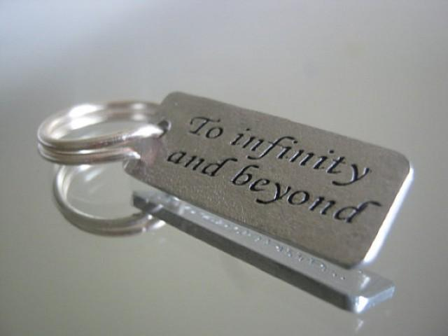 Cyber monday to infinity and beyond keychain groomsmen for Gifts for men friends