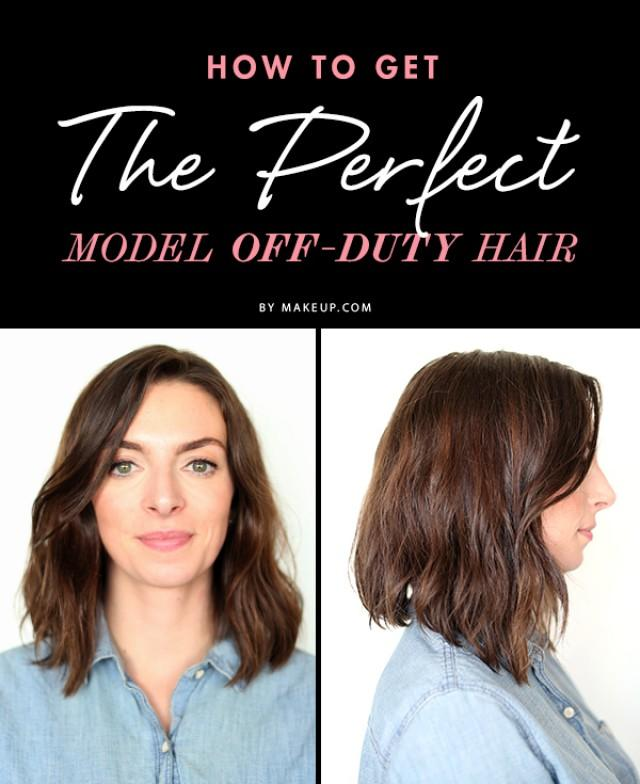 How To Get The Perfect Model Off Duty Hair