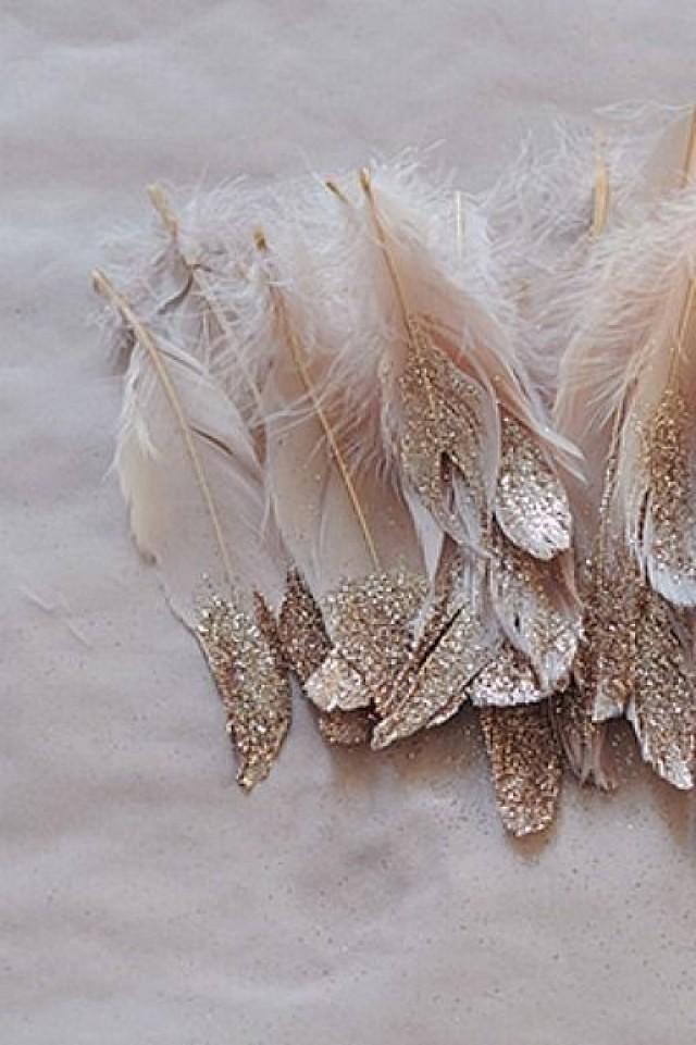 diy wedding feather - photo #38