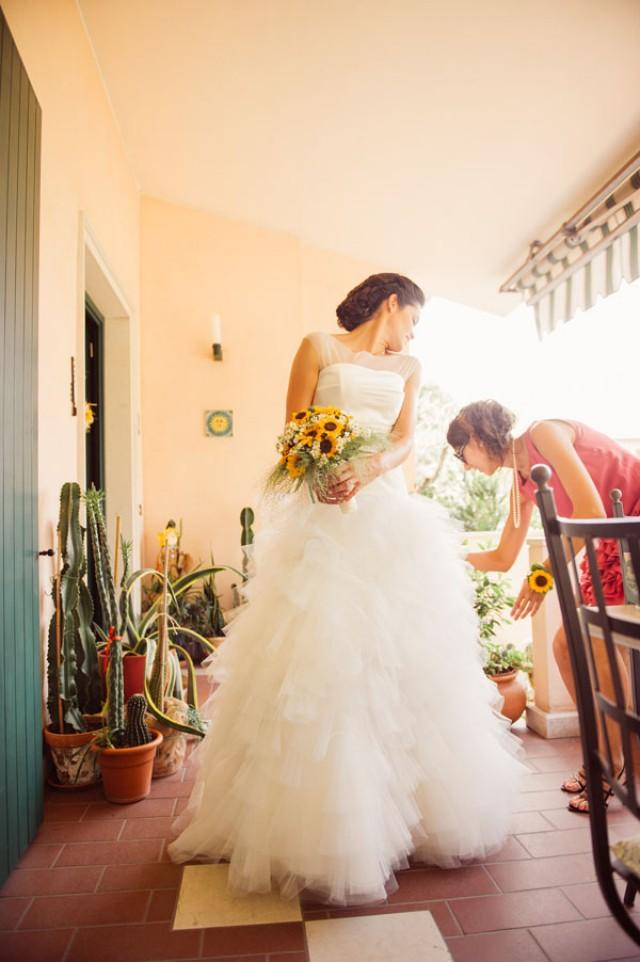 Matrimonio Stile Girasoli : Girasoli e limoni per un matrimonio country chic caterina