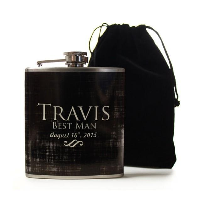 Personalized Gifts For Groomsmen, Custom Flasks For Your Wedding Party ...