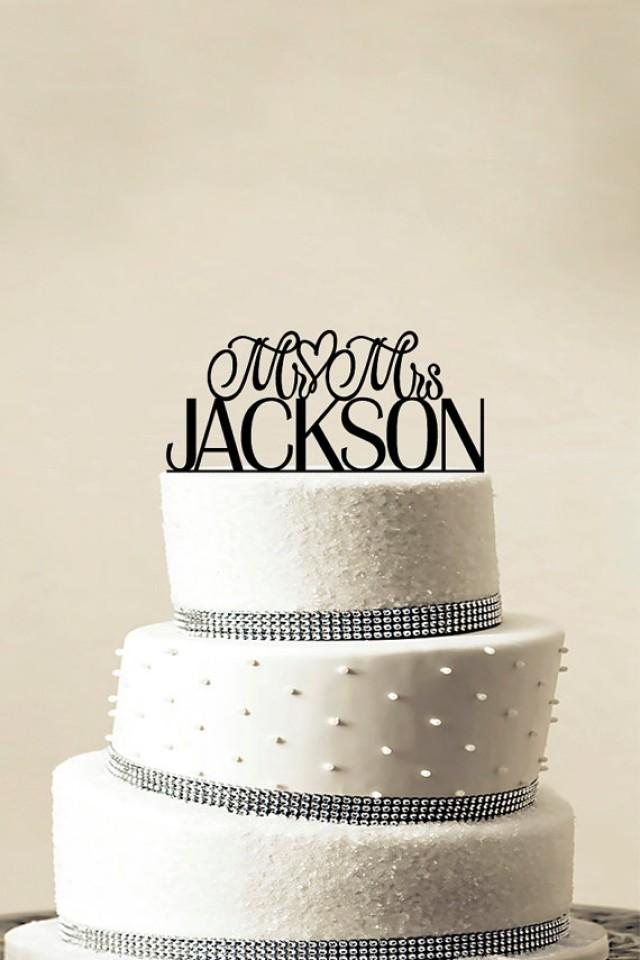 custom wedding cake topper personalized monogram cake topper mr and mrs cake decor bride. Black Bedroom Furniture Sets. Home Design Ideas