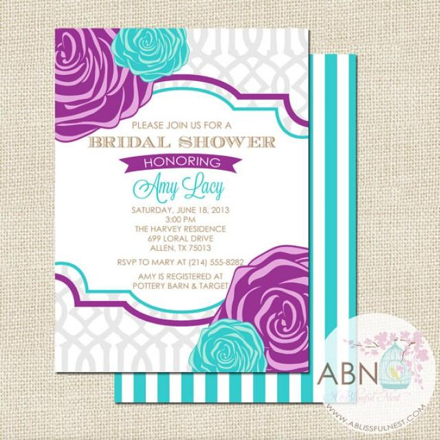 Bridal shower invitation wedding shower invitation for Wedding engagement party invitations