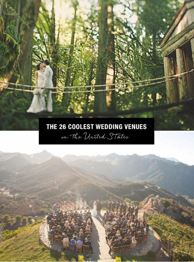 Top 26 coolest places to get married in the us weddbook for Popular places to get married