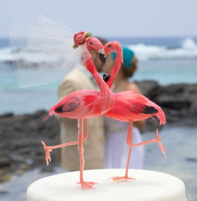 Flamingo Cake Topper For Sale