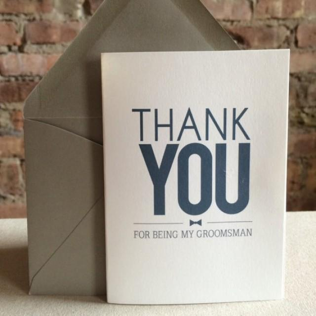Groomsmen gifts groomsmen best man thank you cards for Best gift cards for men