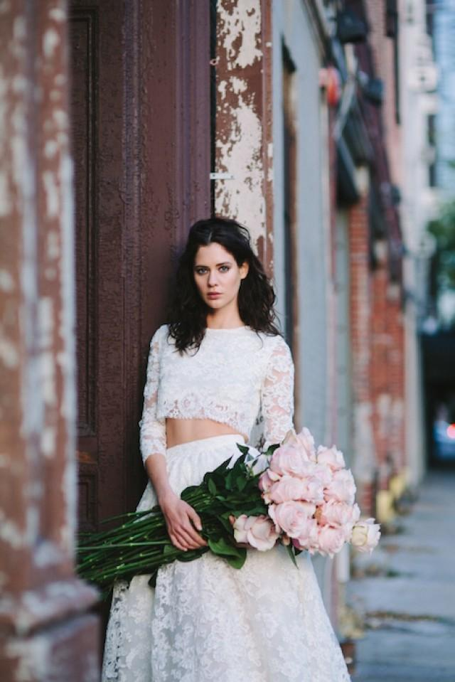 Rethinking The Wedding Dress For 2017 Intimate Weddings Small Blog Diy Ideas And Real