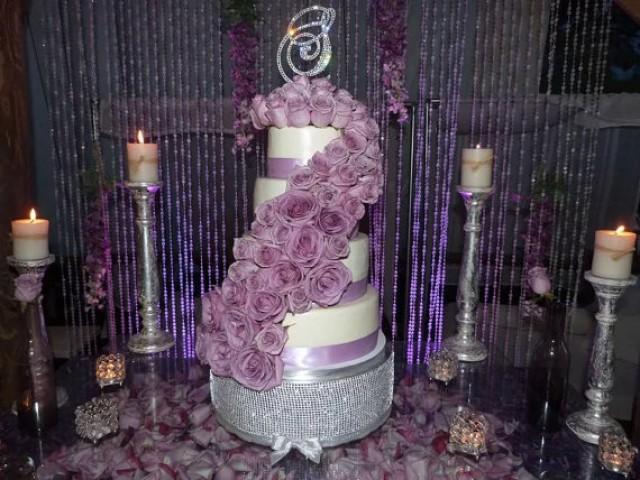 Monogram Wedding Cake Topper Crystal Initial Any Letter A B C D E F G H I J K L M N O P Q R S T U V W X Y Z 2221931