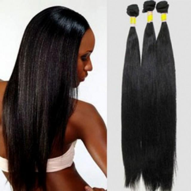 Hair Extension High Quality 100 Real Human Hair 26 Inch Straight