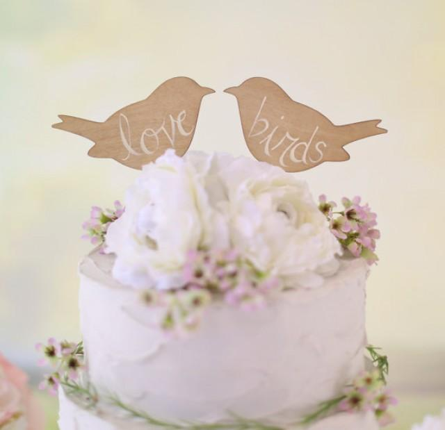 Rustic We Do Cake Topper