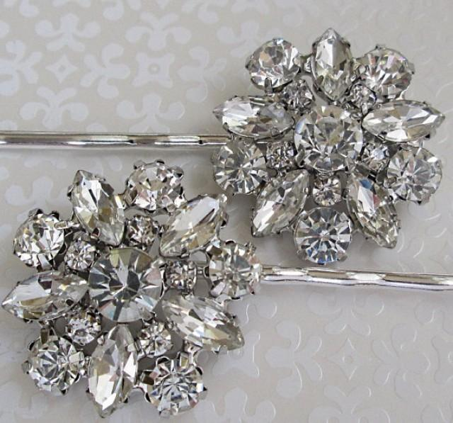 Wedding hair pins crystal bobby pins bridal accessories for Where to buy wedding accessories