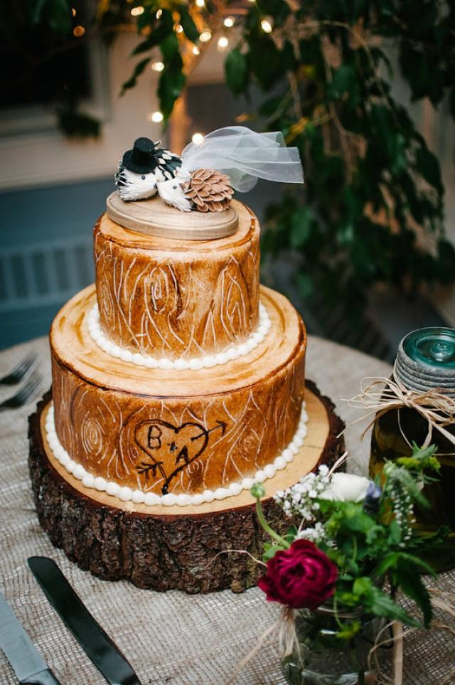 Whiskey Wedding Cake Topper