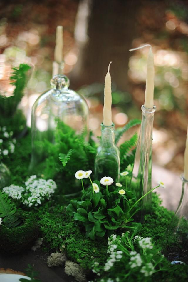 10 Ways To Decorate With Green Moss: 10 Ways To Use Greenery In Your Wedding Decor And Save Money!