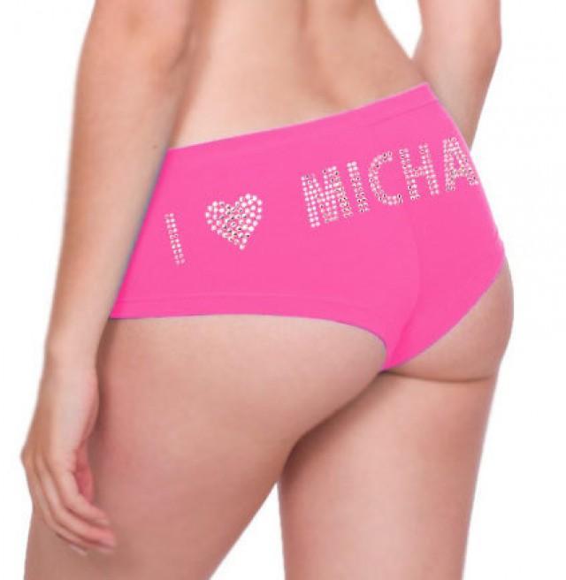 valentines day personalized rhinestone panties lingerie shower bachelorette party bridal shower gift lover 2226122 weddbook - Valentine Panties