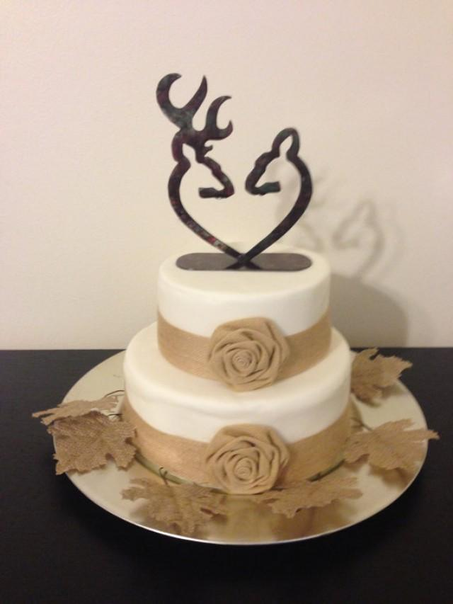 Hunting Wedding Cakes Toppers