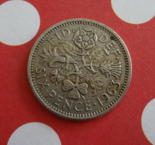 1963 And A Silver Sixpence In Her Shoe Wedding Bride Groom Shoes Bridal Shower Gift Keepsake Coin Token Of Luck 2227339