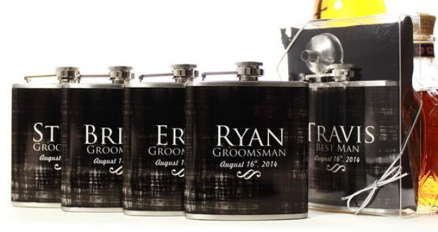Wedding Gift For Guys: Wedding Party Gifts, Flasks For Groomsmen, Custom Gifts