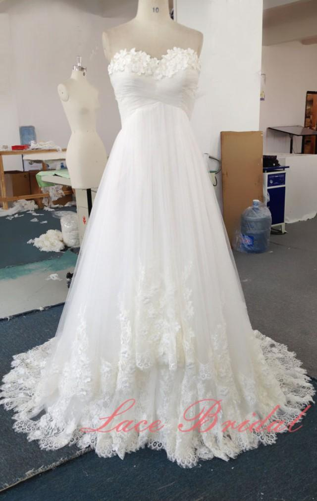 Wedding dress wedding gown princess style bridal gown for A line style wedding dresses
