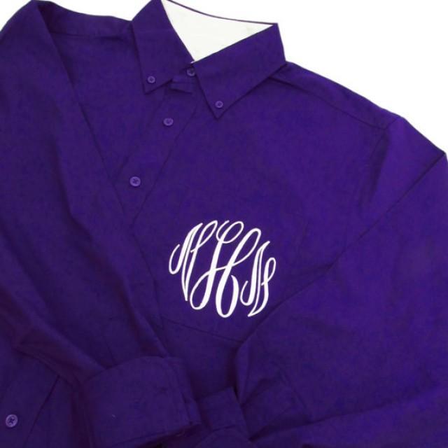 monogrammed oversized shirt - oversized bride shirt - oversized bridesmaid shirts