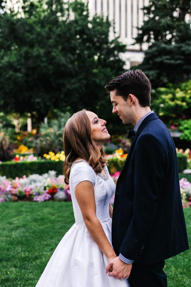 Beautiful Garden Wedding Day In Salt Lake City Weddbook
