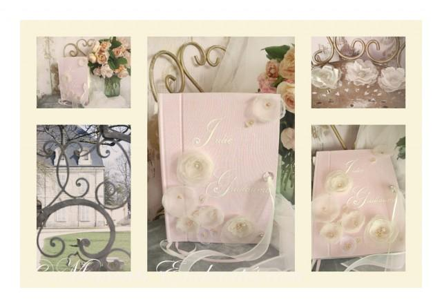 wedding photo - Livre d'or symphonie Florale