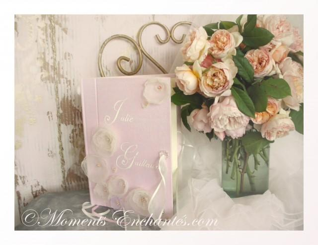 wedding photo - Livre d'or mariage Symphonie florale""