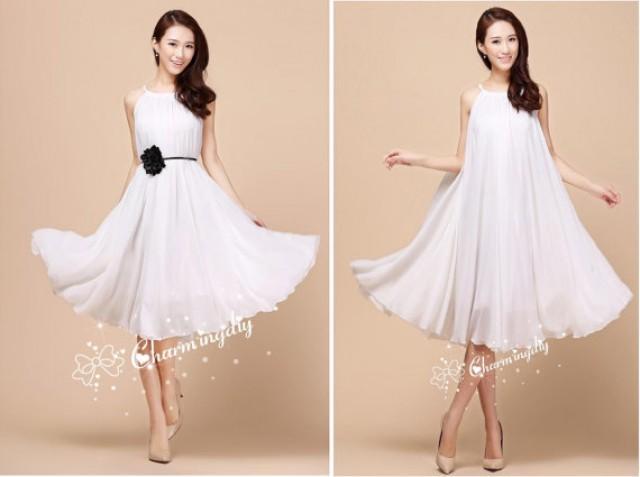 Dress sundress summer holiday beach bridesmaid dress skirt 2232237