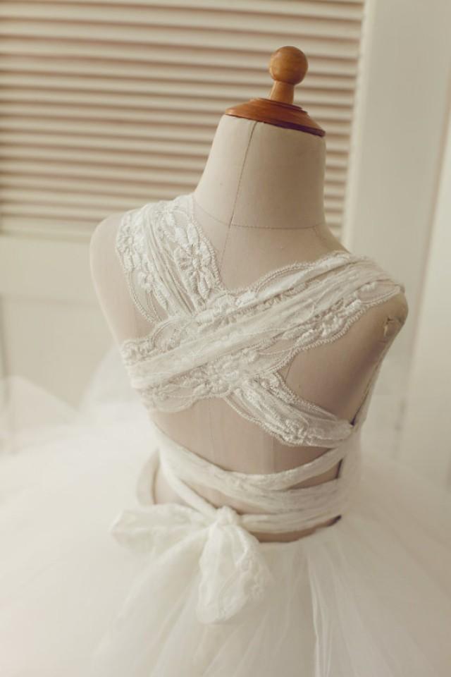Wedding Flower Girl Bridesmaid Party Dress 89
