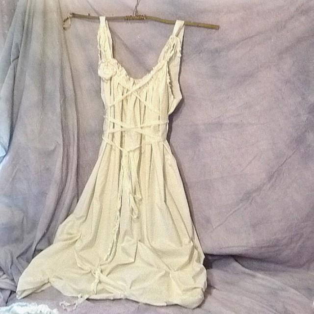 Eco wedding gown dress custom alternative bridal floor for White corset for under wedding dress