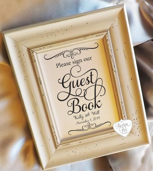 Guest Book Please Sign 5x7 Wedding Signs Cards And Gifts