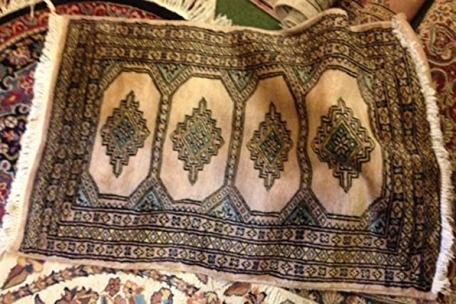 wedding photo - Original Persian Style Woolen Matt Carpet 3 X 2 Traditional Rugs