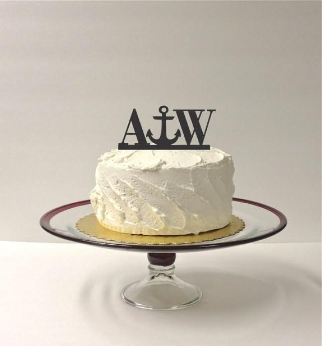 Etsy Nautical Wedding Cake Toppers