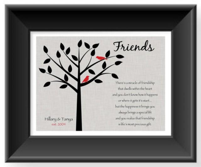 Gift For Best Friend On Wedding Day: Personalized Gift For A Special Friend