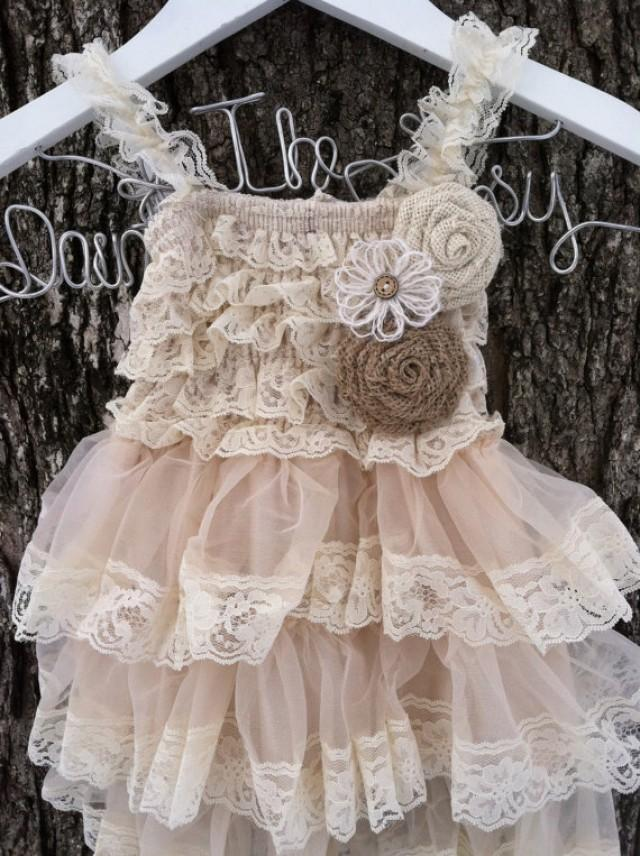 flower girl dresses country weddings
