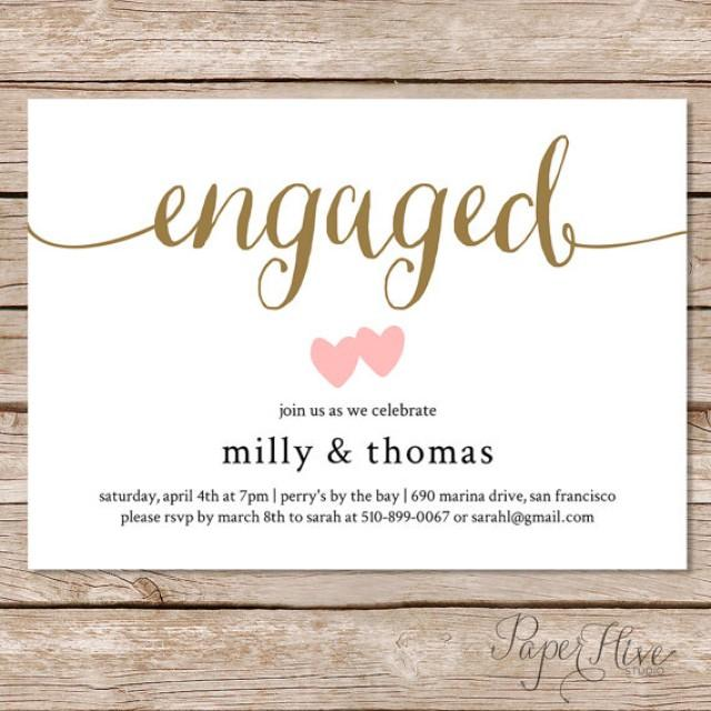 Engagement Party Invitation Engagement Party Invite Engagement – Free Engagement Party Invitation Templates Printable