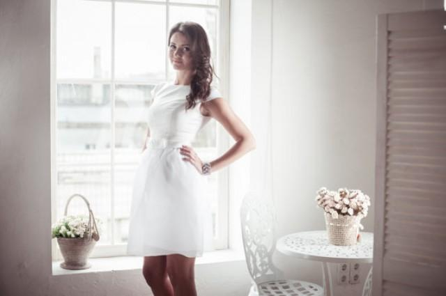 wedding photo - Short wedding dress M10