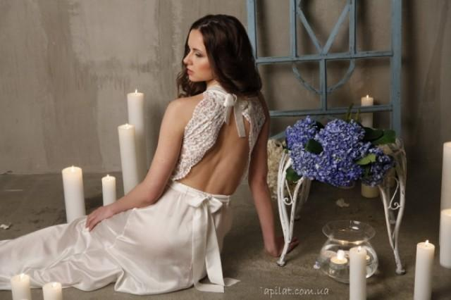 wedding photo - Long nightgown F-5