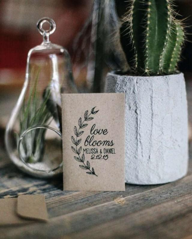 Plantable Tree And Seed Wedding Favors For Spring - Weddbook