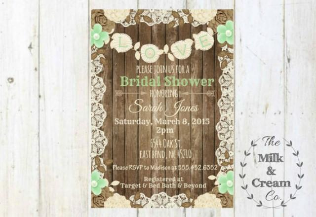 Shabby Wedding Invitations is perfect invitation layout
