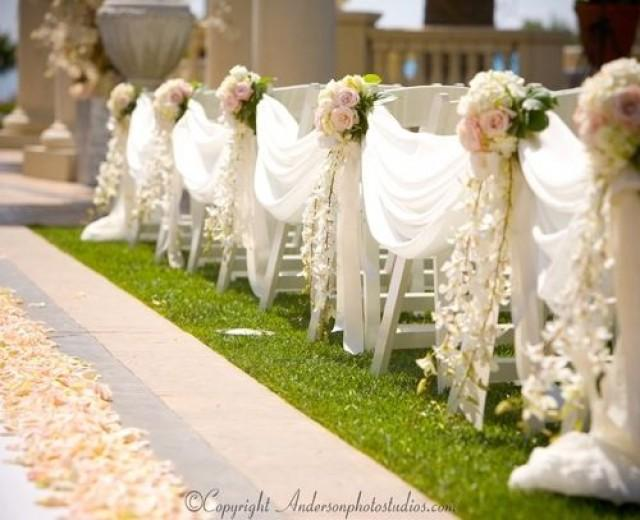 Ceremony aisle ceremony decor 2246572 weddbook for Aisle decoration for wedding