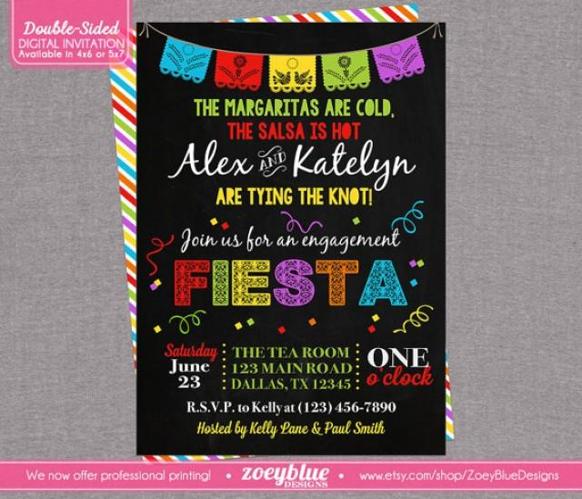 Fiesta Engagement Party Invitation Bridal Shower