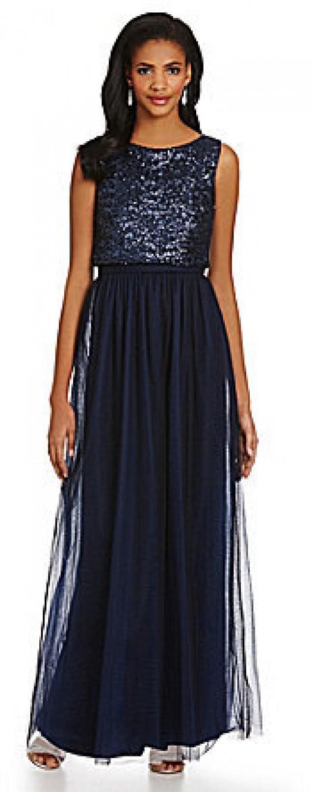 vera wang sequined popover bodice skirt dress 2249607 weddbook. Black Bedroom Furniture Sets. Home Design Ideas