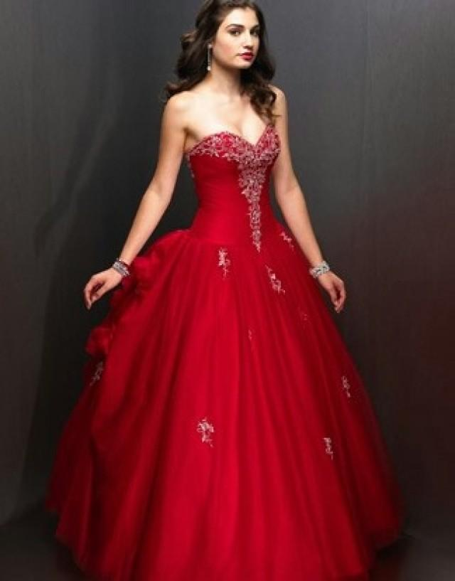 Wedding Dresses With Red And Black : Wedding theme red and black dresses weddbook
