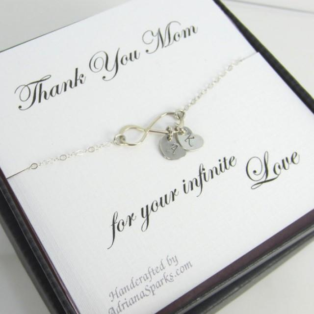 Mother Of The Bride Or Groom Infinity Bracelet, Mothers Gifts, Gifts ...