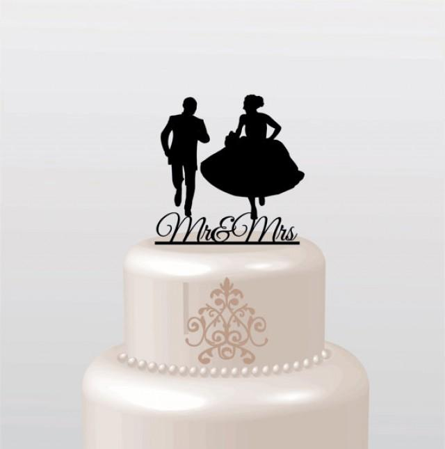 unique monogram cake toppers in your choice of color elegant custom wedding cake toppers. Black Bedroom Furniture Sets. Home Design Ideas