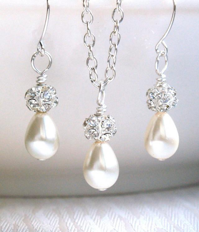 Bridal Party Jewelry Gift Sets : ... Gift Jewelry Set Flower Girl Jewelry Wedding Party #2251949 - Weddbook