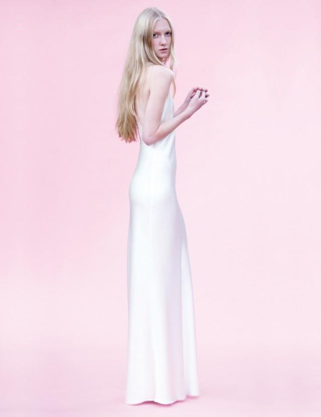 Bridal Gowns Ri : Cristahlea modern bridal gowns polka dot bride weddbook