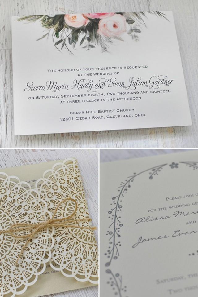 boho wedding invites by invitations by dawn weddbook On boho wedding invitations