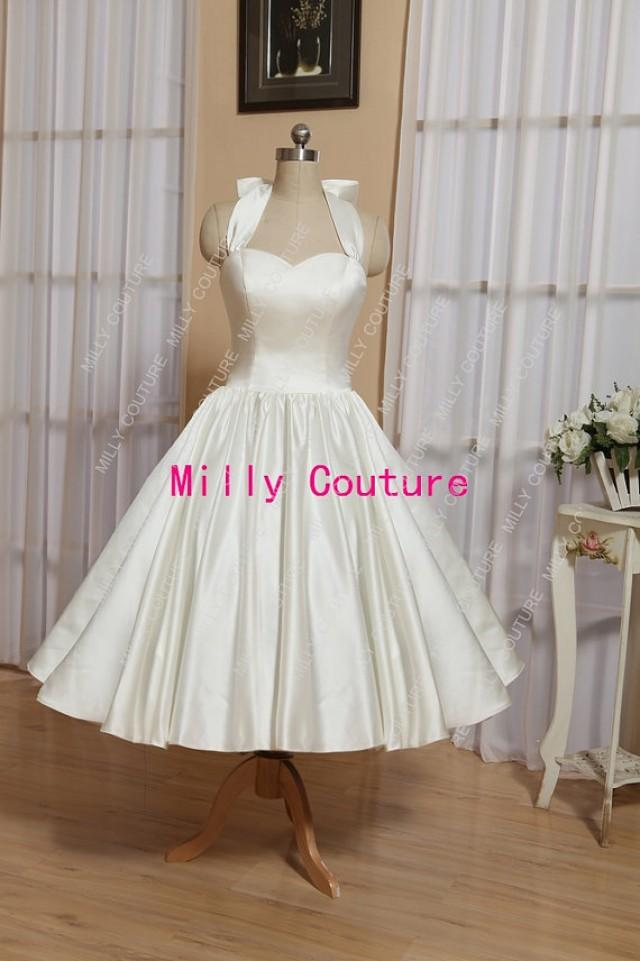 marilyn monroe vintage style wedding dress