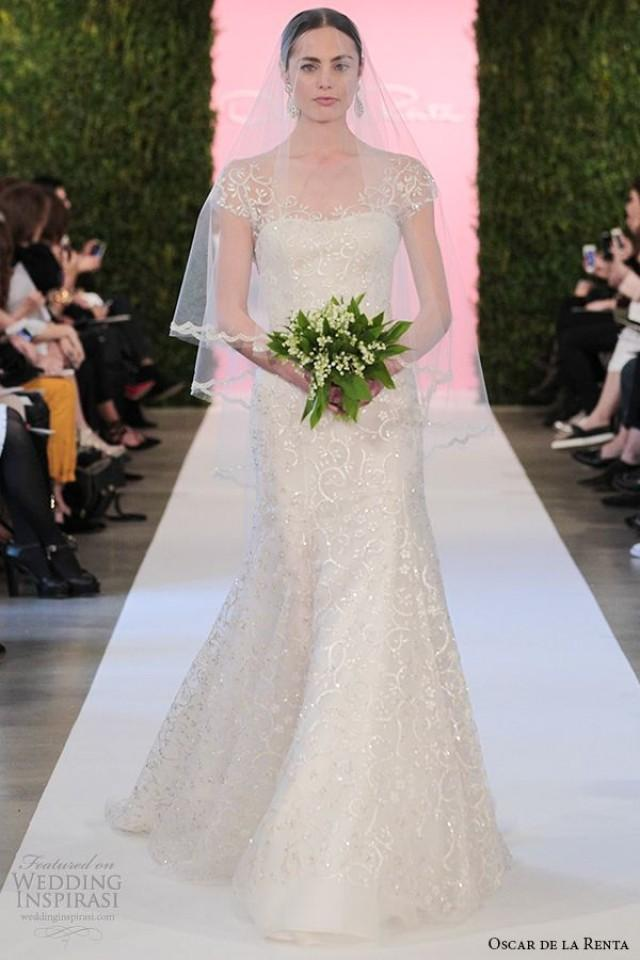 Oscar de la renta bridal 2015 wedding dresses 2255278 for Where to buy oscar de la renta wedding dress